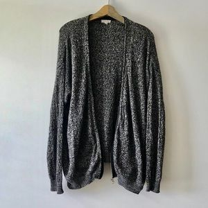 Urban Outfitters Silence Noise Large Gray Cardigan